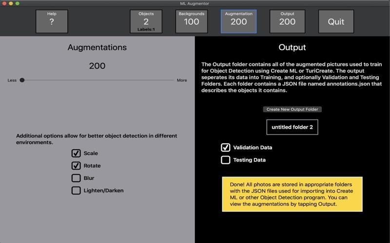 ML Augmentor screenshot 4
