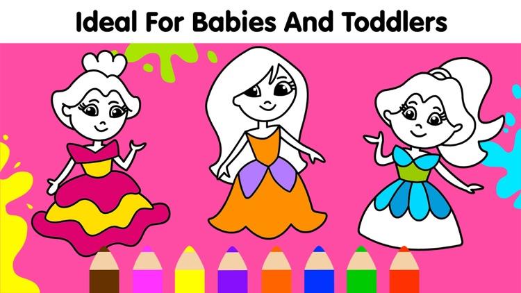 Baby Coloring Games for Kids screenshot-4
