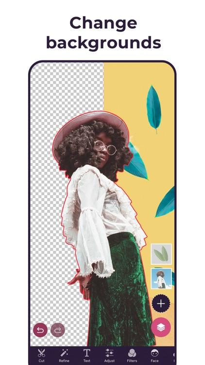 Pixomatic - Remove background