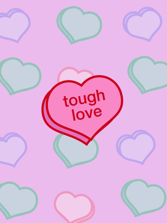 Tough Love Stickersのおすすめ画像1
