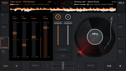 edjing Mix - DJ Mixer App Screenshot