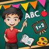 孩子abc 3D游戏为幼儿基本的学前教育游戏3,4,5岁