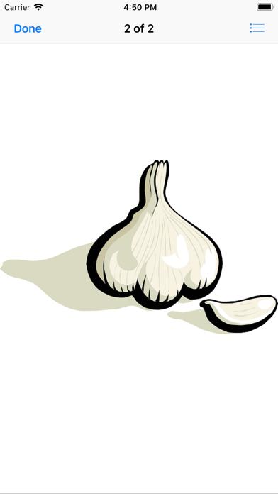 Garlic Stickers screenshot three