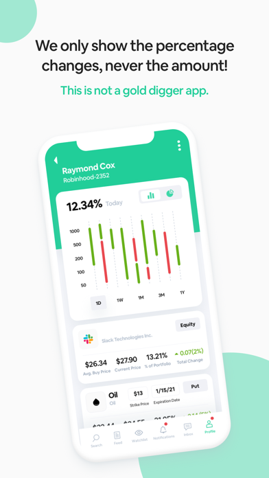 Iris - Social Stock AppScreenshot of 3