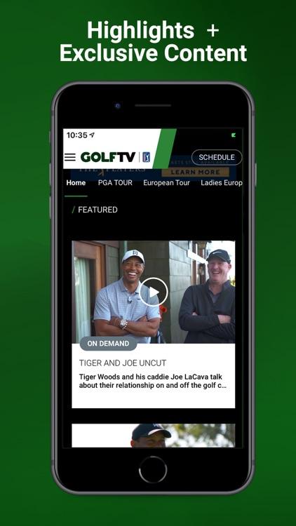 GOLFTV powered by PGA TOUR screenshot-3