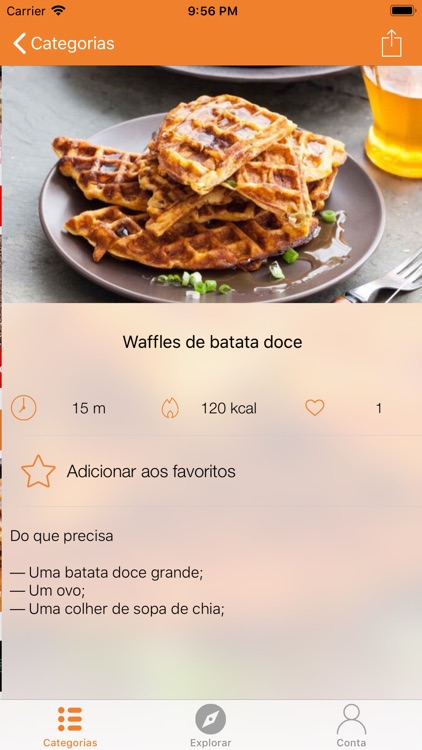 Fit and Healthy Recipes screenshot-1