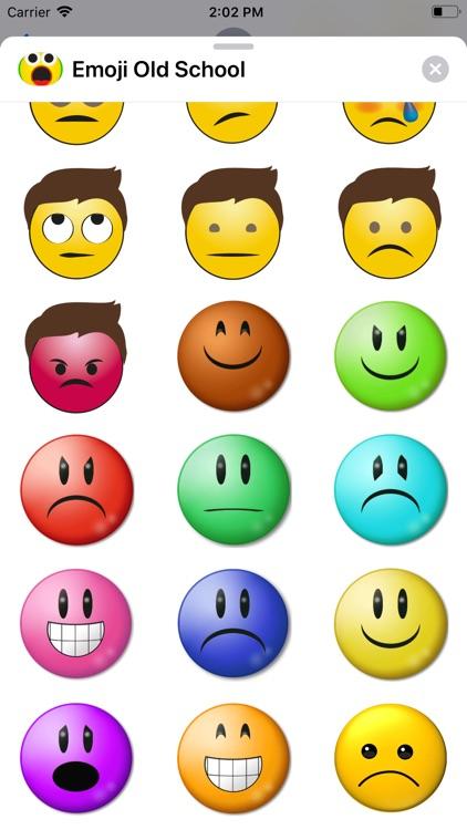 Emoji Old School screenshot-5