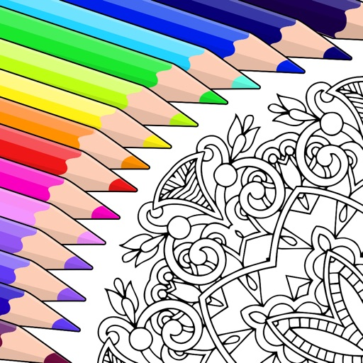 Colorfy: Coloring Art Game app logo