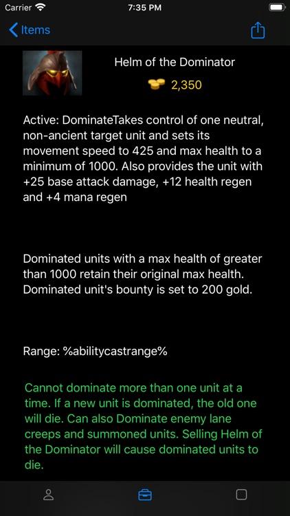Armory for DOTA 2 screenshot-7