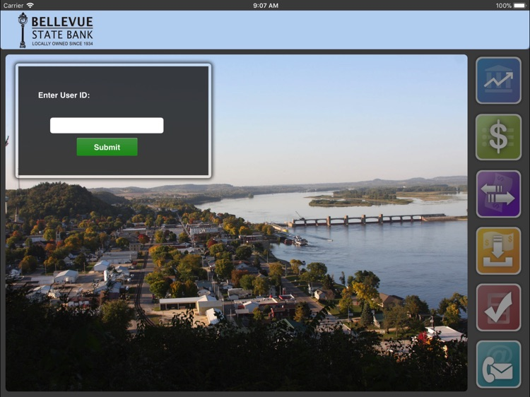 Bellevue State Bank for iPad