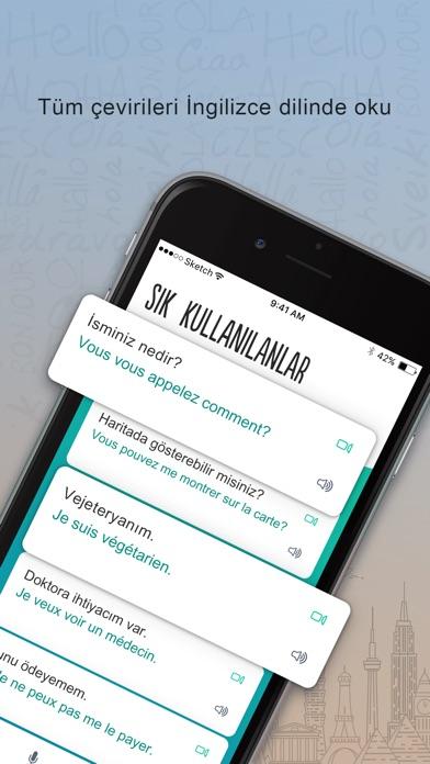 Screenshot for Fransızca Trocal in Turkey App Store