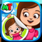 App Icon for My Town : Sticker Book App in Portugal IOS App Store