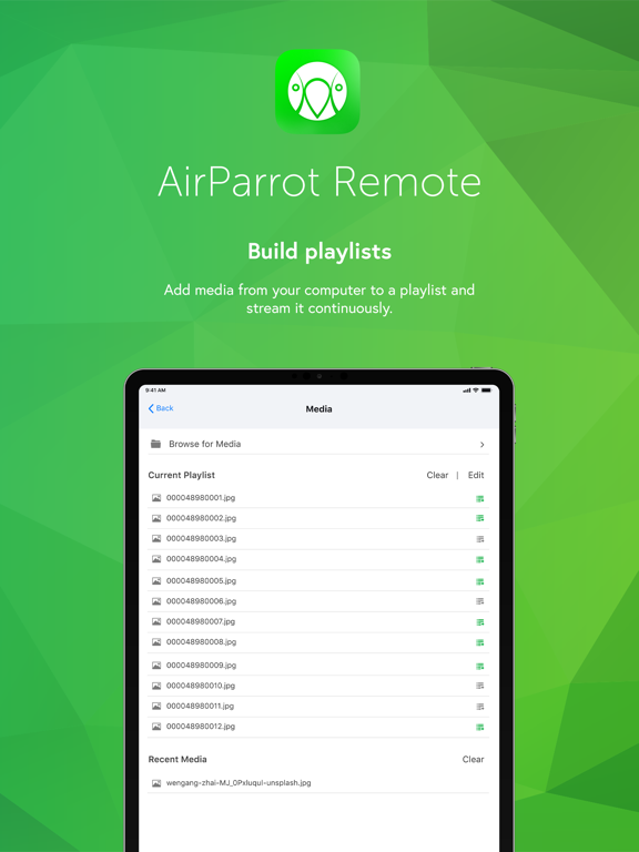 AirParrot Remote