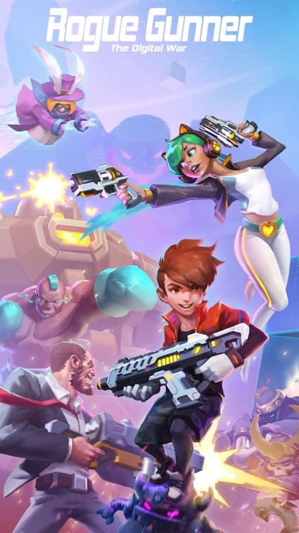 Rogue Gunner:The Digital War screenshot-0