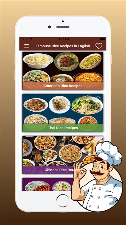 Famous Rice Recipes in English screenshot-3