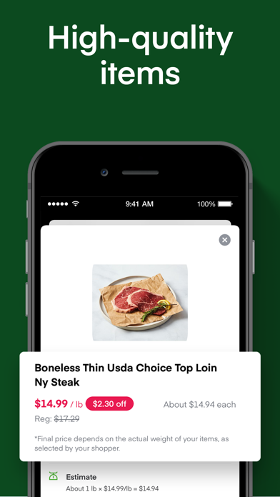 messages.download Instacart: Same day groceries software