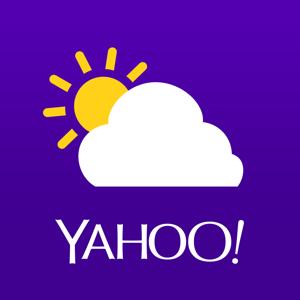 Yahoo Weather Weather app