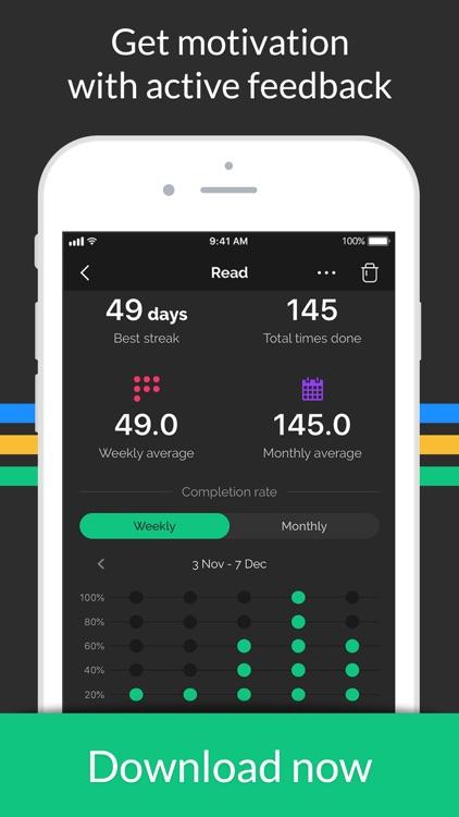 Productive - Habit Tracker screenshot-6