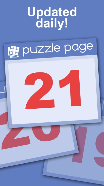 Puzzle Page - Daily Puzzles! screenshot-8