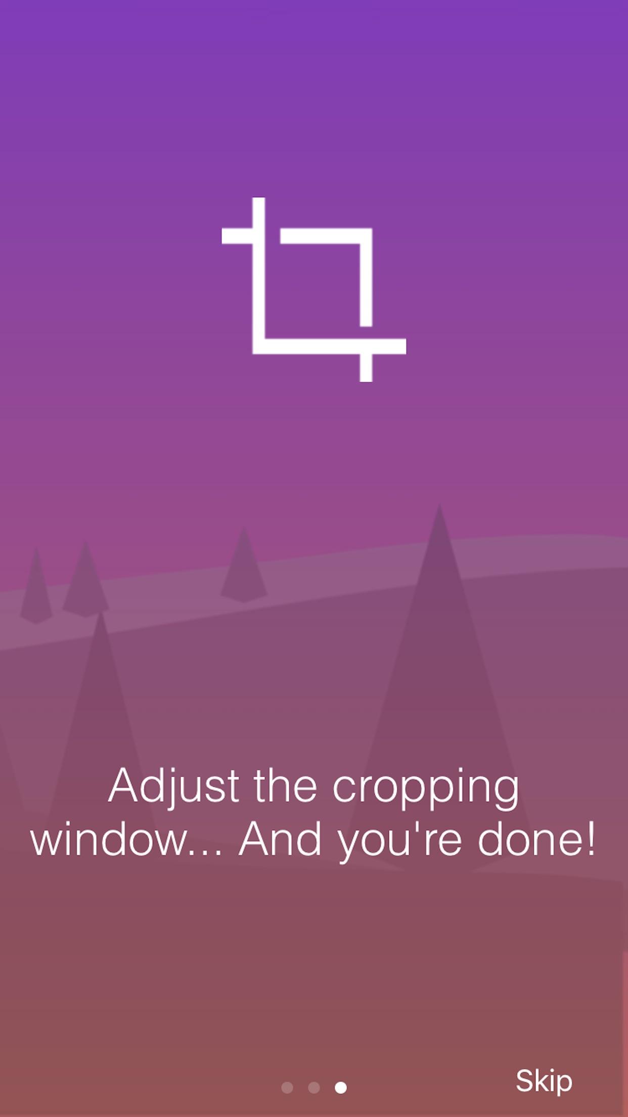 Screenshot do app Unsquared For Instagram
