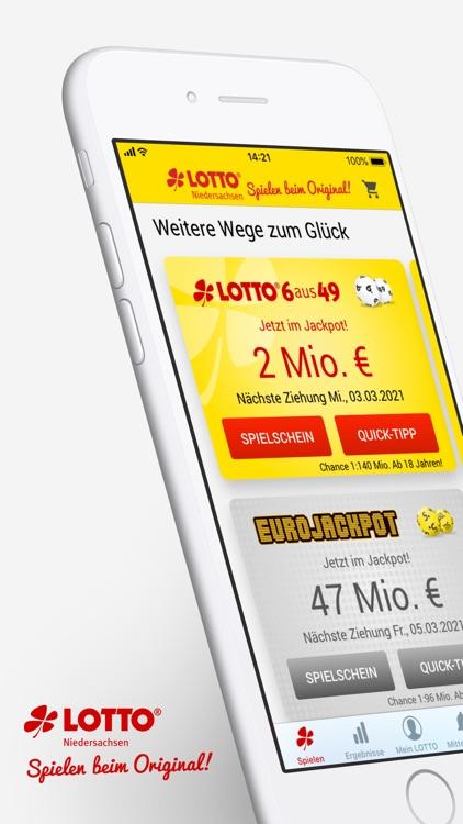 Eurojackpot und LOTTO spielen screenshot-0