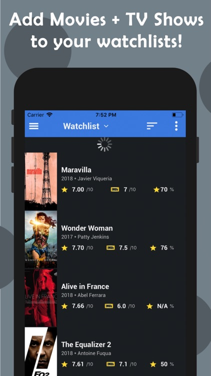 CineTrak - Movie and TV Guide