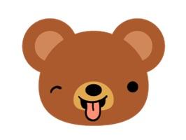 Bear Dry Sticker
