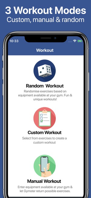Gymster+ Gym & Healthy Eating Screenshot