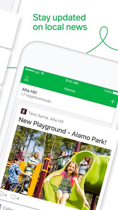 Nextdoor review screenshots