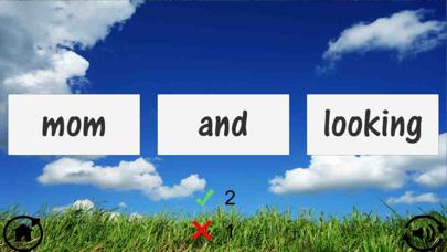 Screenshot for Kindergarten Sight Word Quiz in Sweden App Store