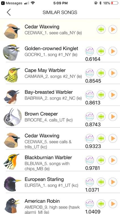 Song Sleuth: Auto Bird Song ID screenshot-7
