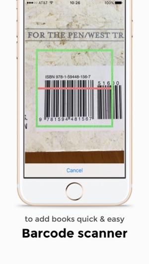 My Book List - Barcode Scanner Screenshot
