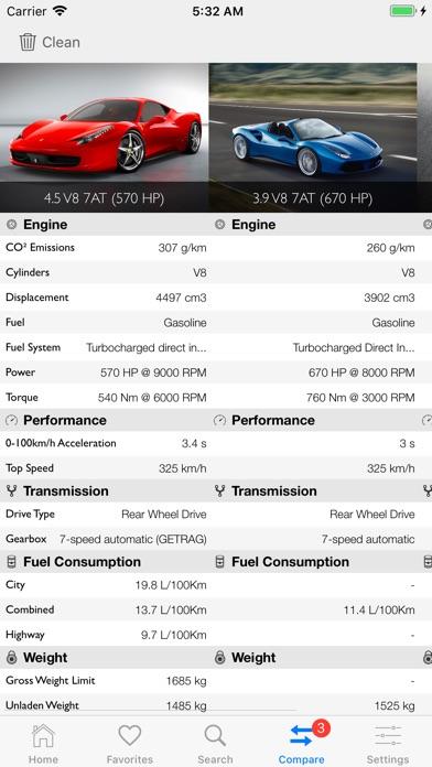 Car Specs Pro Screenshots