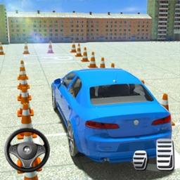 Car Traffic Modern Parking 3D