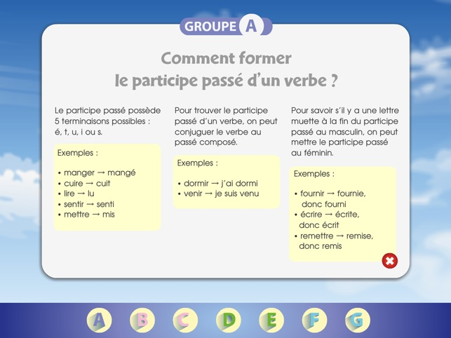 Aventures Du Participe Passe A 'app Storeで