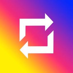 Repost for Instagram Followers