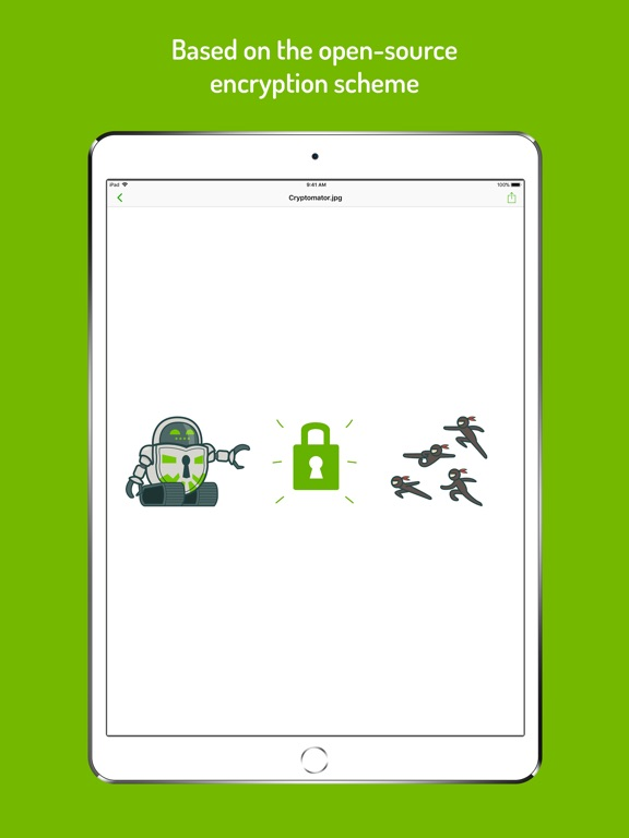 Cryptomator Screenshots