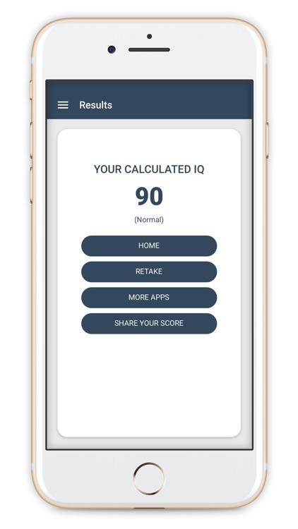 IQ Test (Intelligence Test) screenshot-5
