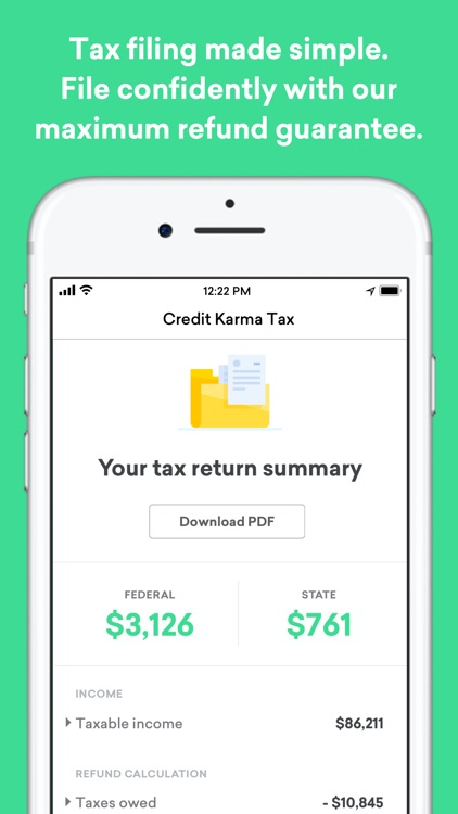 Credit Karma screenshot-1