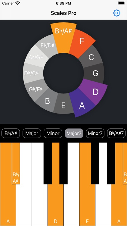 Scales Pro - Chords & Scales screenshot-5
