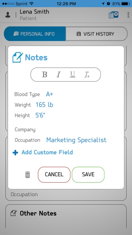 Dr.Pad: Patient Medical Record screenshot-3