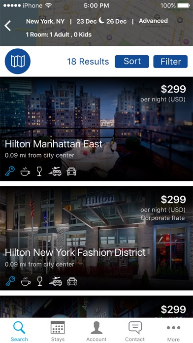 Hilton Honors: Book Hotels for Windows