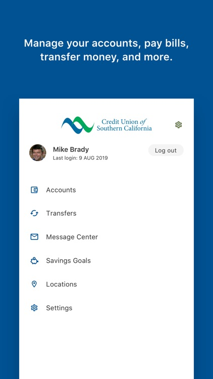 CU SoCal Mobile Banking screenshot-2