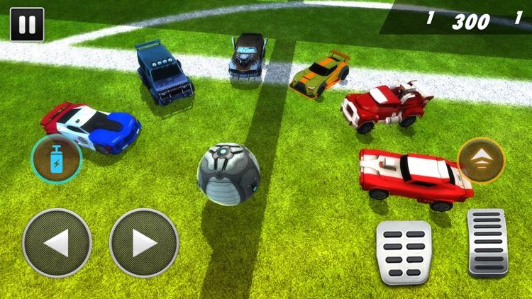 Turbo Cars League Soccer Mania screenshot-6