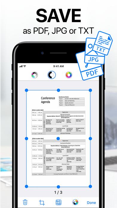 iScanner - PDF Scanner App Screenshots