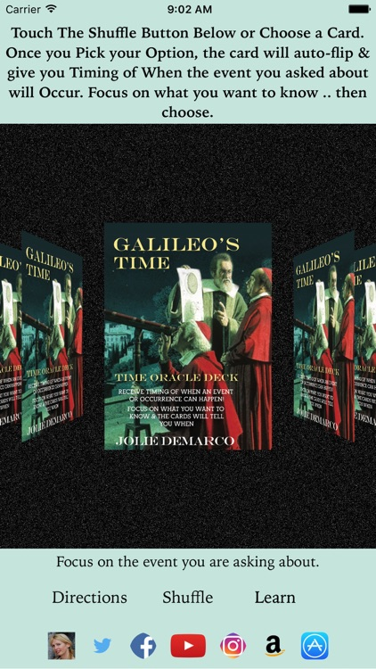 Galileo's Time Oracle Deck