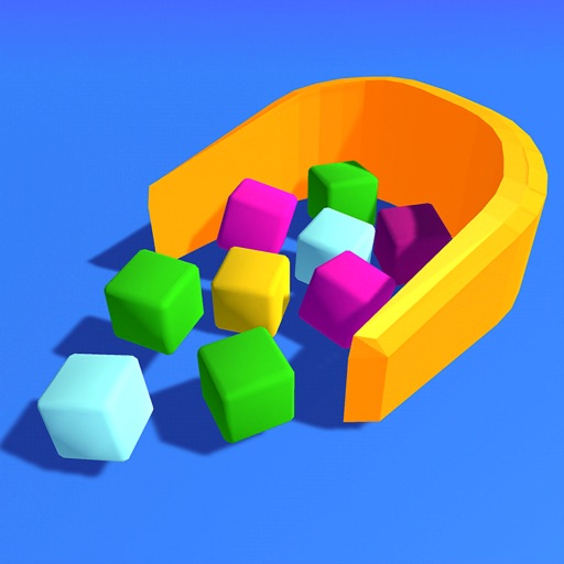 Collect Cubes iOS App