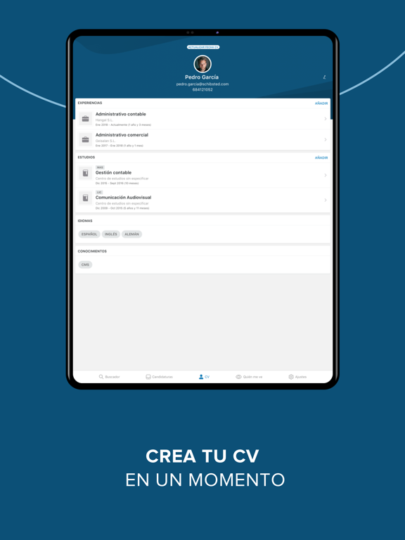 Screenshot #6 pour InfoJobs - Trabajo y Empleo