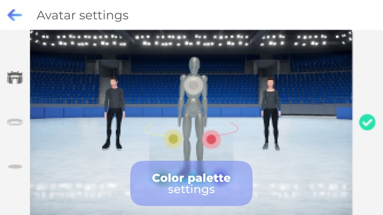 Freezio Figure Skating 3D app