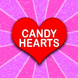Candy Hearts Fun Stickers